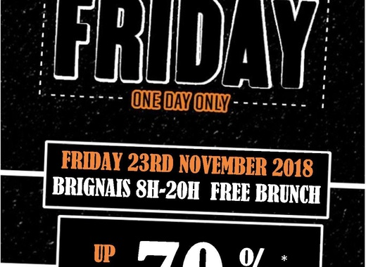 Black Friday Harley-Davidson Grand Lyon Sud
